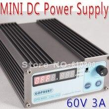 60 В 3A DC высокая точность компактные цифровые регулируемый импульсный источник источник питания постоянного тока OVP / OCP / OTP малой мощности 110V-220V-240V AC CPS-6003