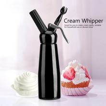 лучшая цена 500ml Coffee Dessert Cream Fresh Butter Dispenser Whipper Cake Cream Foam Maker  DIY Baking Mounting Patterns Mousse Siphon
