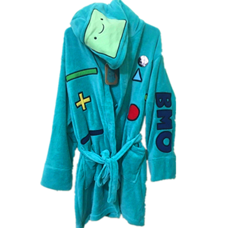 Fashion Lady ADVENTURE go Cute BMO Hat Beemo BATH ROBE DRESSING GOWN ...