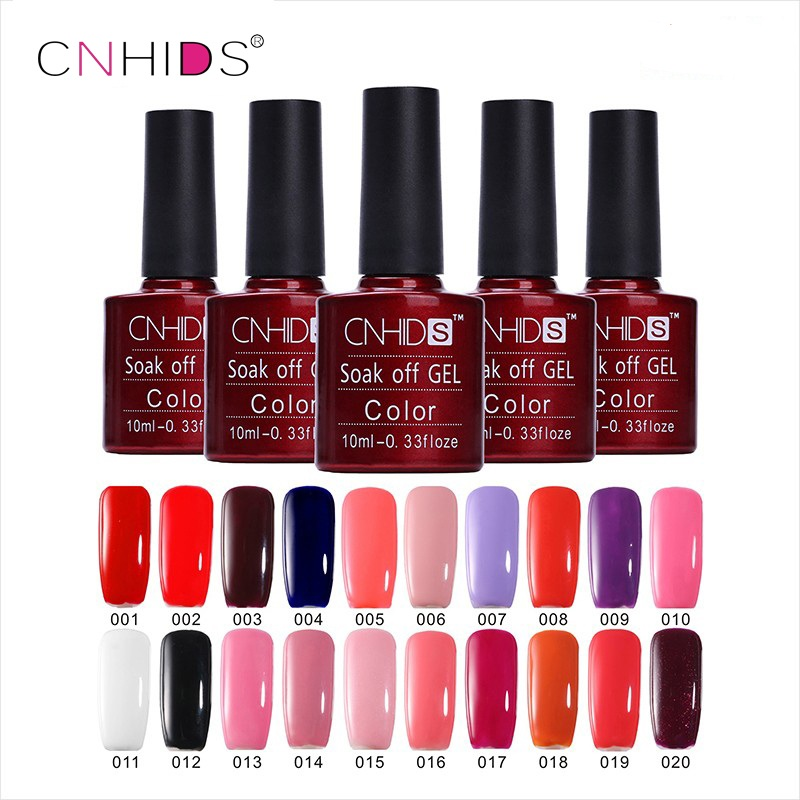 CNHIDS 132 Colors Gel Nail Polish Professional UV Gel Nail Polish Long-Lasting Soak-Off Led Varnish Gel Nail 8ml Nail Lacquer