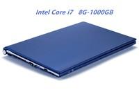 8 ГБ Оперативная память + 1000 ГБ HDD Intel Core i7 ноутбуки 15,6 1920X1080 P Win 7/10 Тетрадь PC игровой ноутбук с DVD RW для Office для дома
