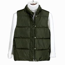 Winter Vest Women Waistcoat 2017 new Women's short Casual Vest Sleeveless Jacket Down Cotton Warm Casual Vest Female QH0422
