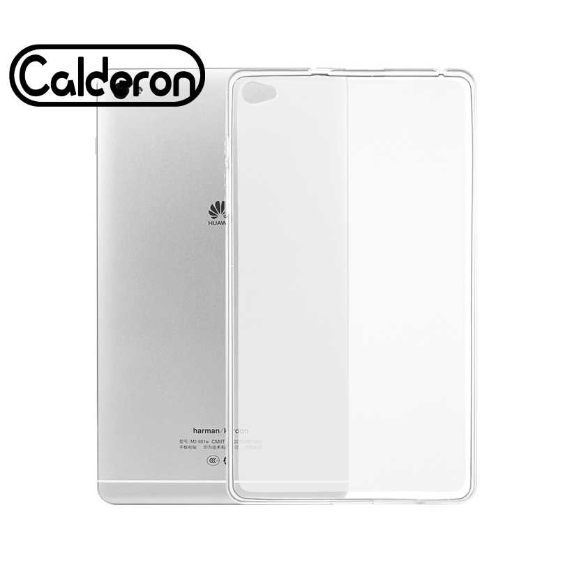 Clear Soft Silicone Case Voor Huawei Honor Pad 2 8.0 Cover Skin Shell MediaPad M2 7.0 8.0 M3 8.4 Lite 10.1 8.4 M5 Tablet TPU Tas