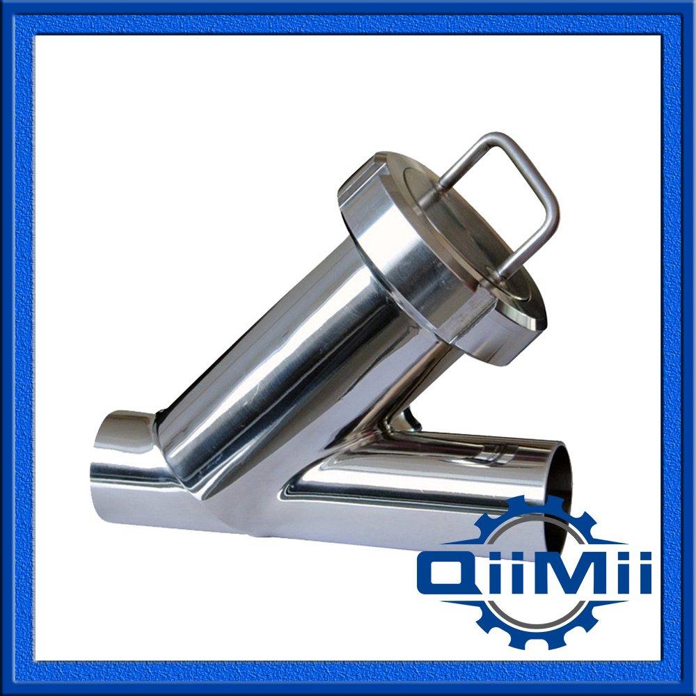 3 Straight Filter Weld Sanitary Y Filter Steel Filter