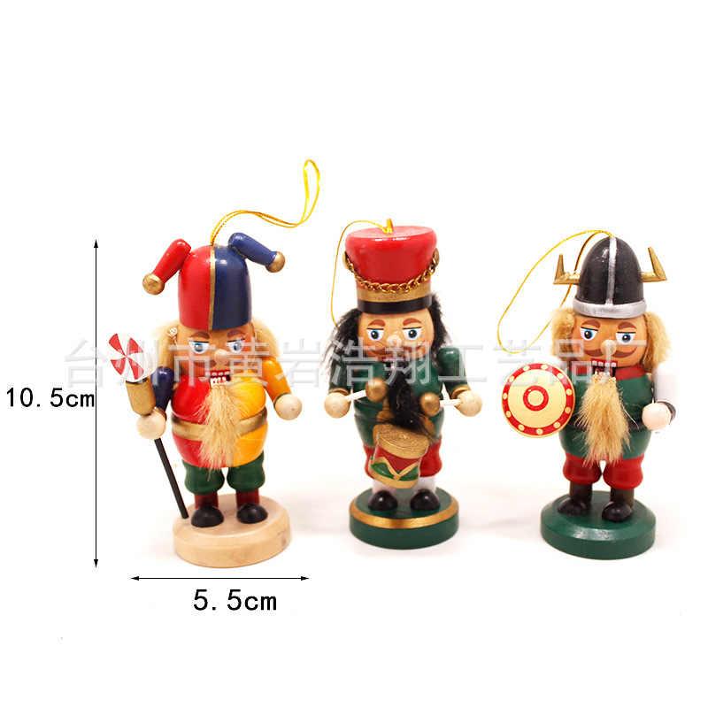 Nutcracker หุ่นสร้างสรรค์ทหาร Character มารยาททหารของขวัญงานฝีมือตกแต่งบ้าน