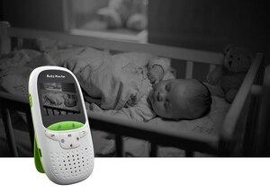 Image 2 - Радионяня Беспроводная аудио видео Баба электронное портативное устройство внутренней связи Babyfoon камера BeBe няня Walkie Talkie Babysitter VB602