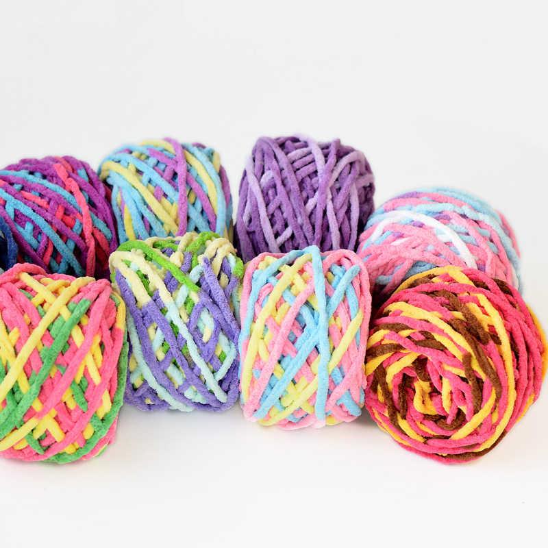 Groothandel 2balls * 160g natuurlijke zachte sjaal katoenen garen dik garen voor breien haak baby breiwol garen draad, z5141