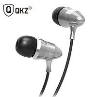 Original QKZ X6 Super Bass Metal Earphones Professional Headset HIFI Headsets Mic MP3 Player Earbuds Universal