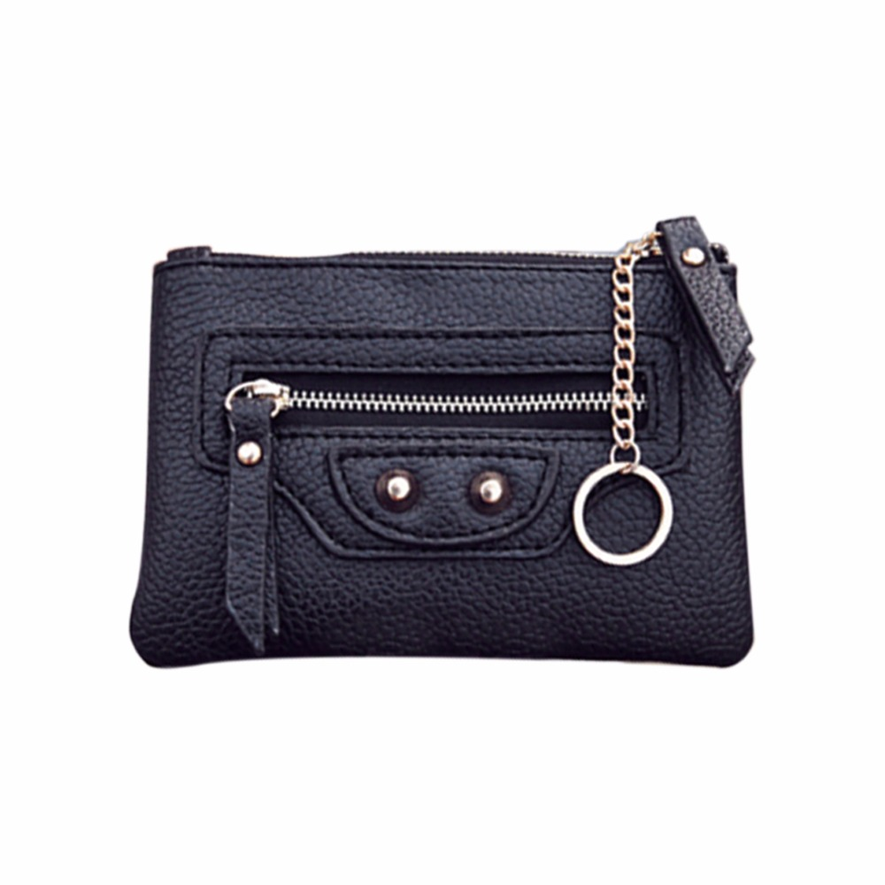 все цены на Women's Purse Wallets Genuine Leather Small Wallet Top Quality Women Short Purse Lady Money Bag Zipper Purses Clutch Card Holder