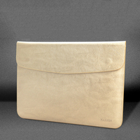 Kalidi Luxury For Macbook Pro Retina 13 Case Premium PU Leather Ultra Slim Case For Macbook Air 13 Gold For Macbook Air 11 Case