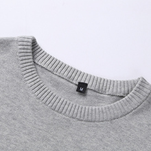New Autumn Winter Fashion Brand Clothing Men Knitted Sweater Feather Pattern Slim Fit Pullover Men 100% Cotton Sweaters For Men