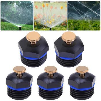 PULVERIZADOR DE AGUA con boquilla de atomización para aspersores de jardín de 20 piezas, rociador de aspersión de riego por microgoteo DIY, riego e irrigación