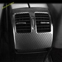 Lapetus Rear Seat Armrest Box Air AC Vent Outlet Molding Garnish Cover Trim For Mercedes Benz C Class W204 2010 2011 2012 2013
