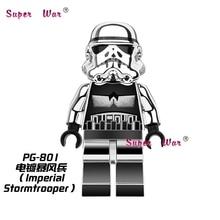 Single Sale star wars superhero marvel Chrom Stormtrooper SW097 building blocks action set model bricks toys