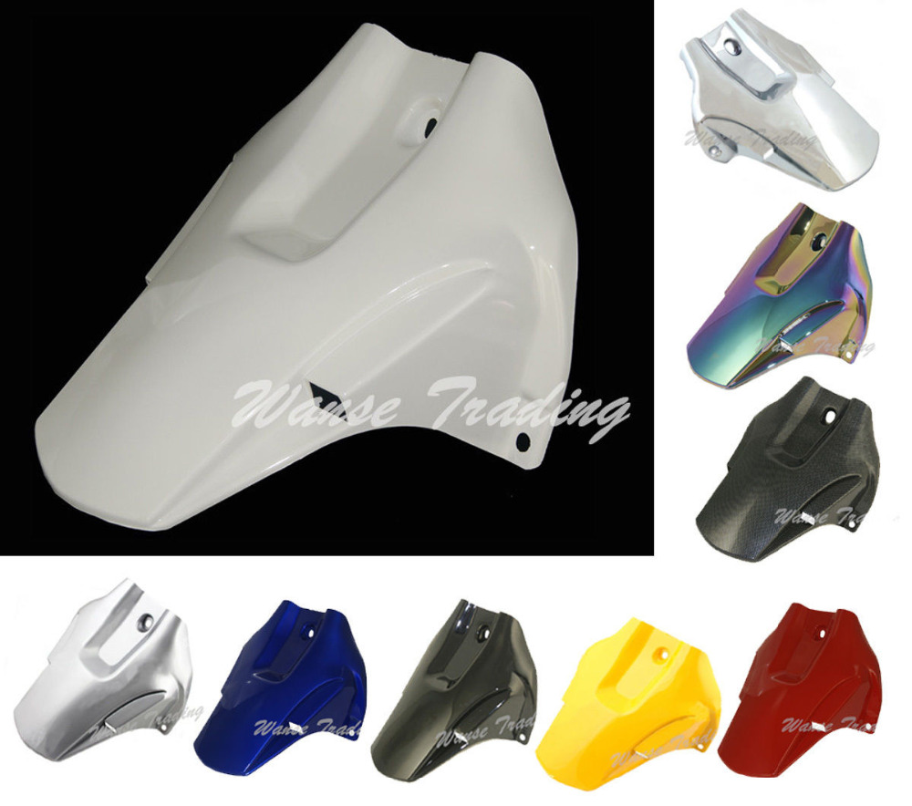 Motorcycle Rear Wheel Hugger Fender Mudguard Mud Splash Guard For Honda CBR10000RR CBR 1000 RR 2004 2005 2006 2007 arashi motorcycle parts radiator grille protective cover grill guard protector for 2003 2004 2005 2006 honda cbr600rr cbr 600 rr