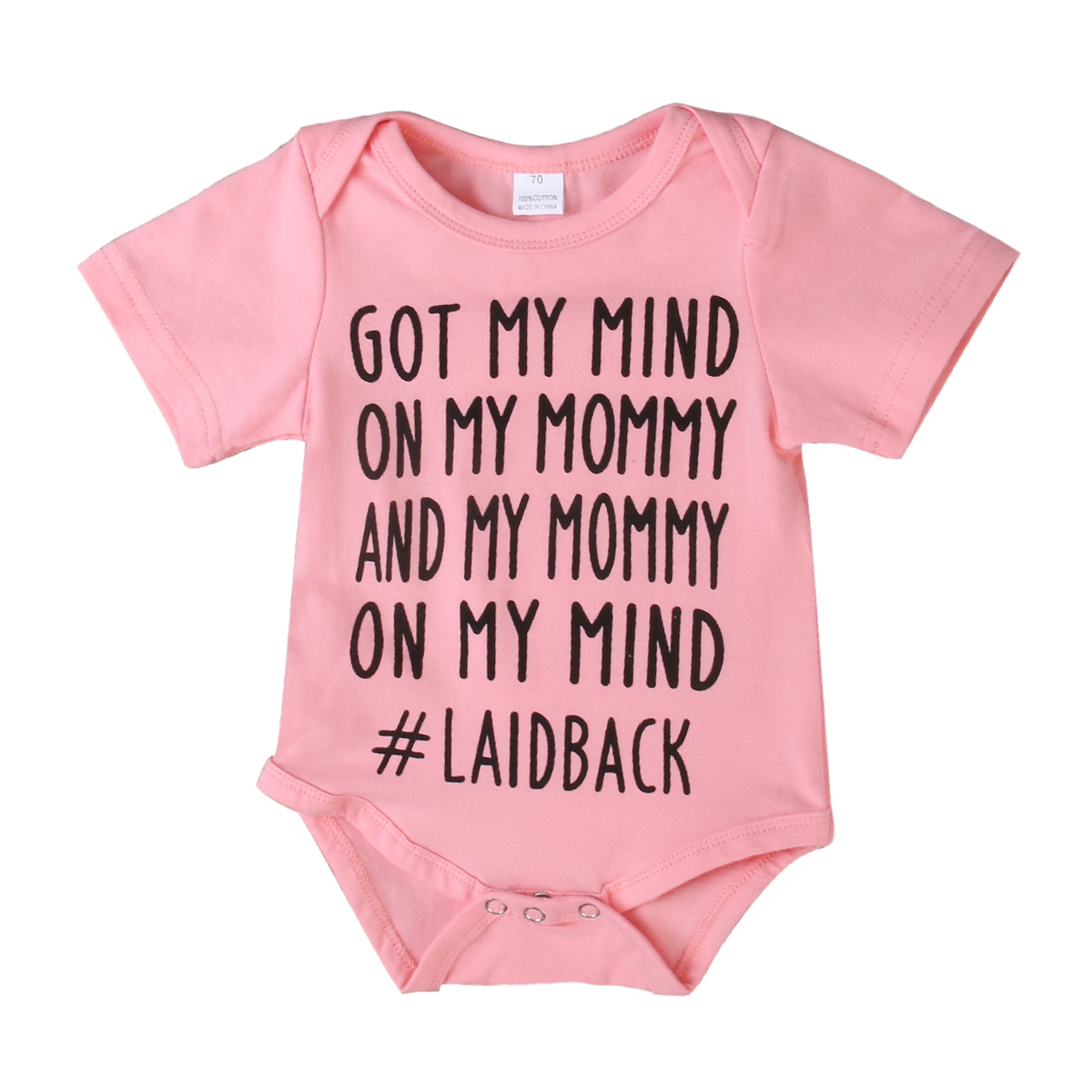 On My Mind 3 Colors Toddler Infant Baby Boys Girls Letter Cotton ...