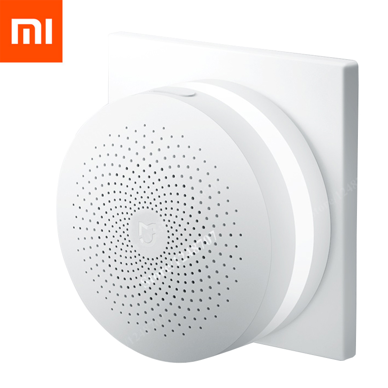 Upgrade Version Xiaomi Multifunctio Gateway 2 Smart Control Center Smart Home Kit Two Control With Radio Doorbell Ring Built In