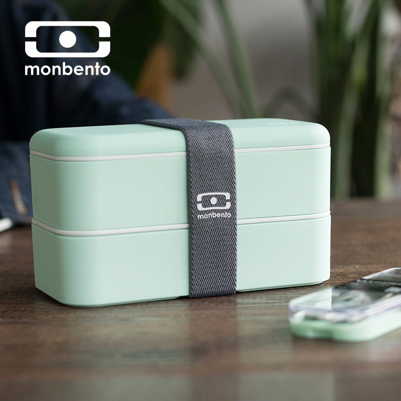 MONBENTO Japanese Bento Box Lunch Box Bento Lunchbox Water Soup Mug Insulated Lunch Cooler Tote Bag Food Container Microwave
