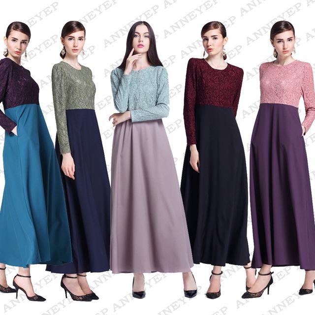 Vestido abaya muçulmano para as mulheres Islâmicas vestidos de dubai vestido Dos Muçulmanos vestuário Islâmico kaftan Vestido abaya hijab jilbab turco 061