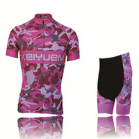 New Sports Cycling Jersey Sets Bike Ciclismo Bicycle Bicicleta Maillot Mtb Clothing Racing Womens Clothes Camouflage Pink