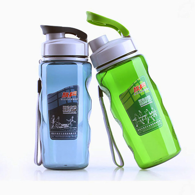 ec0fcdddd83 470 ml Bottle of Water Bicycle Healthy Simple Space Sports Excursions Travel  Mug Race Bottle for School Hiking Biking Camping