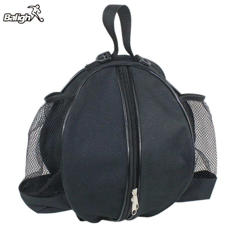 Portable Adjustable Shoulder Storage Bag Round Ball Bag Basketball Volleyball Football Strap Backpack