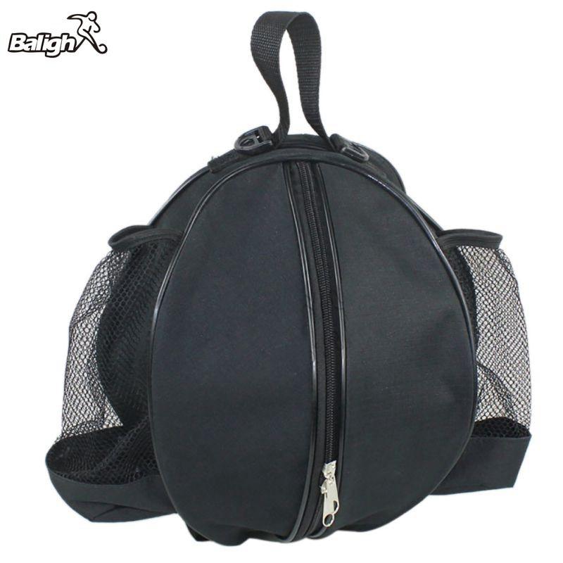 Portable Adjustable Shoulder Storage Bag Round Ball Bag Basketball Volleyball Football Strap Backpack