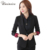 2017 Jacket & Blazers Mulheres Negras Simples Mulheres Casaco Blazer Magro Um Botão Blazer Outerwear Roupa Das Mulheres OL Estilo Vogue