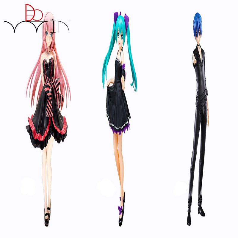 Dowin 3 style 22cm miku kaito Megurine Luka figure sega project SPM model collection childrens toy sega