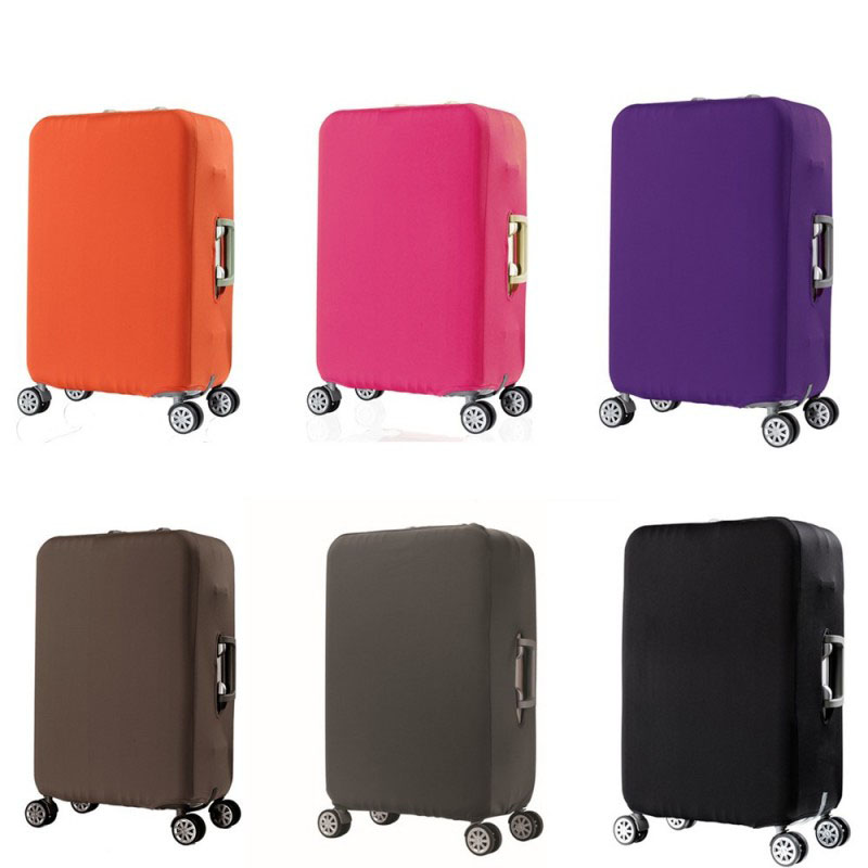 Elastic Luggage Case Cover For 19-32 inch Trolley Suitcase Protect Dust Bag Case Travel Accessories Supplies Gear Item Product