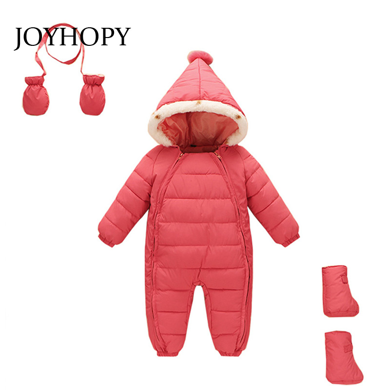92113144e JOYHOPY 1pcs Baby Romper children kids Cute Rabbit Hooded Long ...