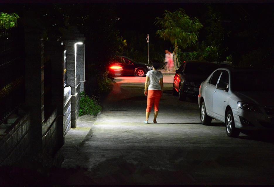 Super Bright 48 LED Solar Power PIR Motion Sensor Light Garden Security Lamp Outdoor Street Waterproof Wall Lights Freeshipping