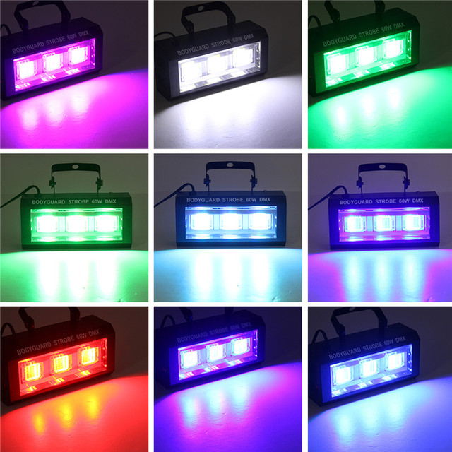 LED Strobe Stage Flashing Lighting  Bar  4