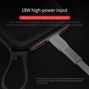 Image 3 - Baseus 20000mAh Power Bank PD QC3.0 быстрое зарядное устройство 2 USB Type C Быстрая зарядка портативное зарядное устройство для ноутбука для Iphone внешний аккумулятор повербанк портативная зарядка