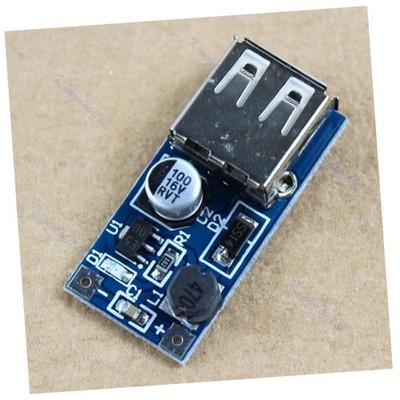 0.9-5V To 5V 600mA DC Converter Step Up Boost Module USB Charger For MP3 MP4 m18