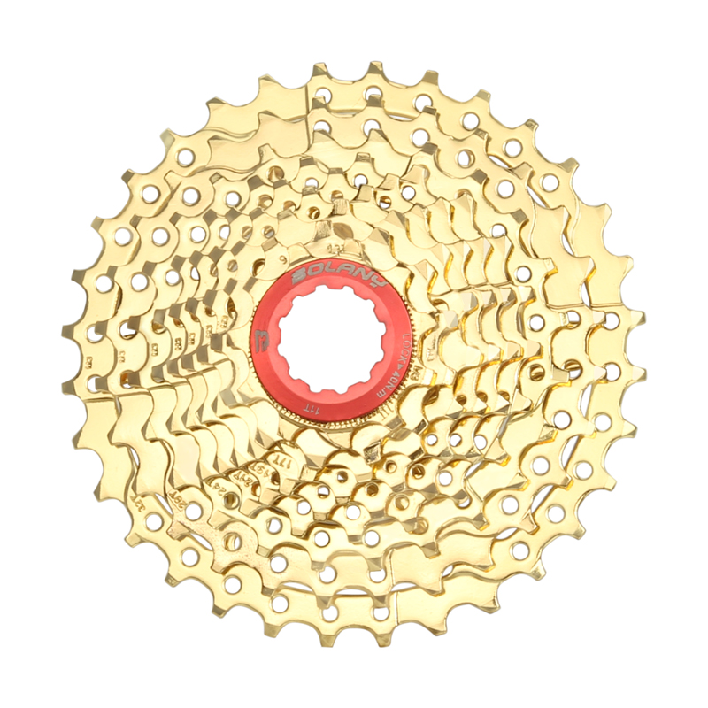 BOLANY MTB <font><b>Cassette</b></font> 8S/9S/10S/11S/12S <font><b>11</b></font>-25 28 32 <font><b>40</b></font> 42 46 50 52T Sprockets Freewheel Wide Ratio Mountain Bicycle Accessories image