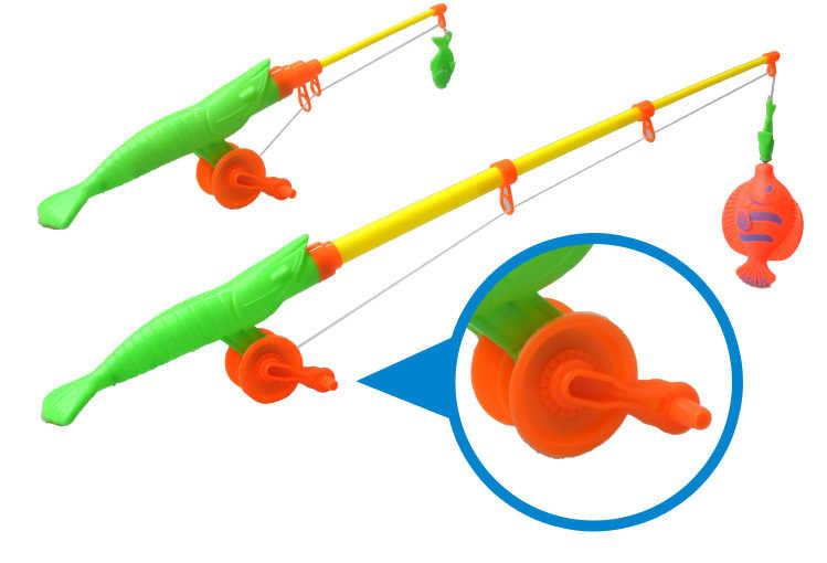 Детский набор рыболовных игрушек для мальчиков и девочек, магнитные игрушки для игры в воду, детские игрушки с рыбками, квадратный горячий подарок для детей, Бесплатная доставка, GYH