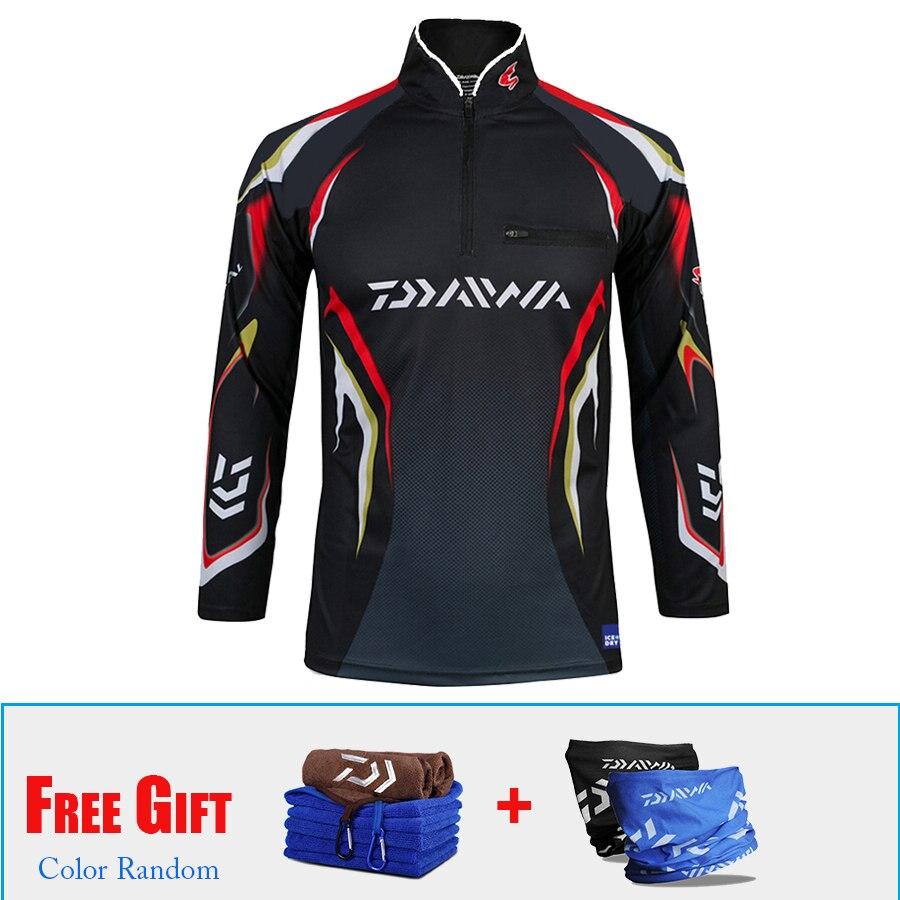 3PCS/LOT Outdoor Fishing Clothing Breathable Sports Hiking Jacket Coat Fishing Shirts Camisas Pesca Equipment