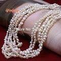 [Yinfeng] Новая Мода 2015 Корейский Стиль Белый Пресной Воды Жемчужина Короткое Ожерелье Для Женщин Ювелирный Бренд