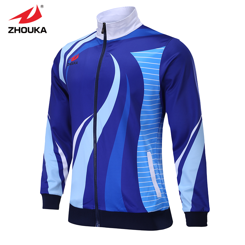New design custom tracksuit full sublimation print colorful paternal sport jacket set print personalized blazer Sports uniform