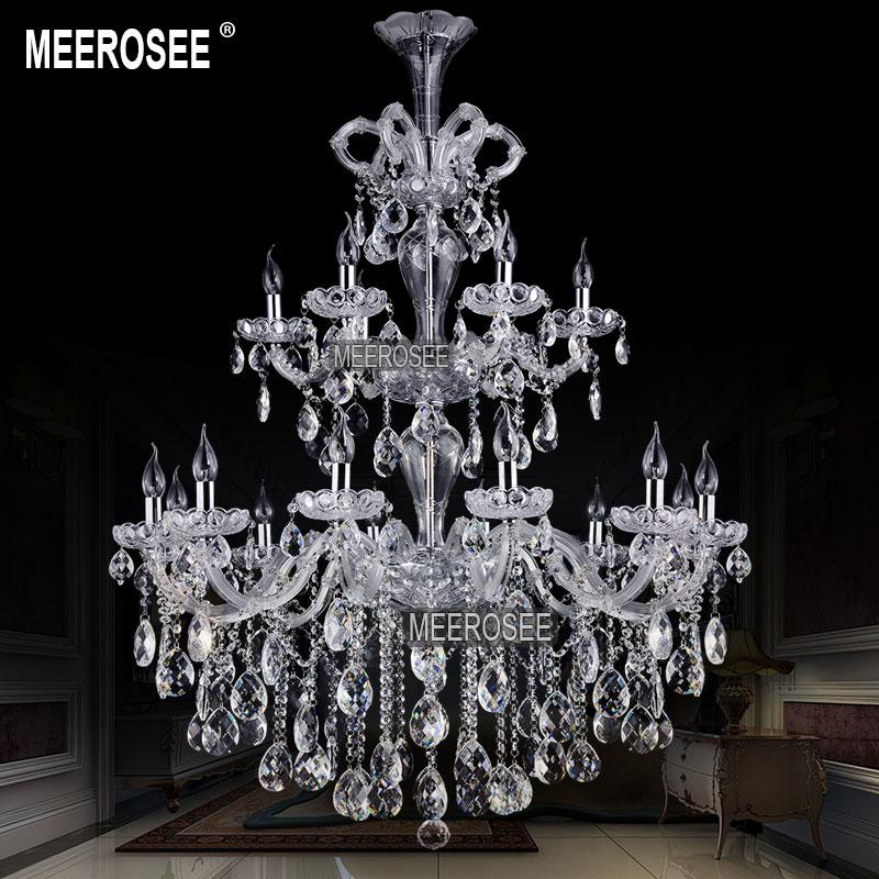 Lumină Albastră Lumină Maria Theresa Cristal Lustre mari Lustre - Iluminatul interior - Fotografie 5