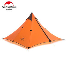 Naturehike Ultralight Hiking Trekking Traveling 20D Nylon 4 Season 1 Person Single Layer Outdoor Camping Tent