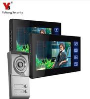 Free Shipping By DHL LCD Multi Apartment Video Door Phone Video Intercom System With 4G SD
