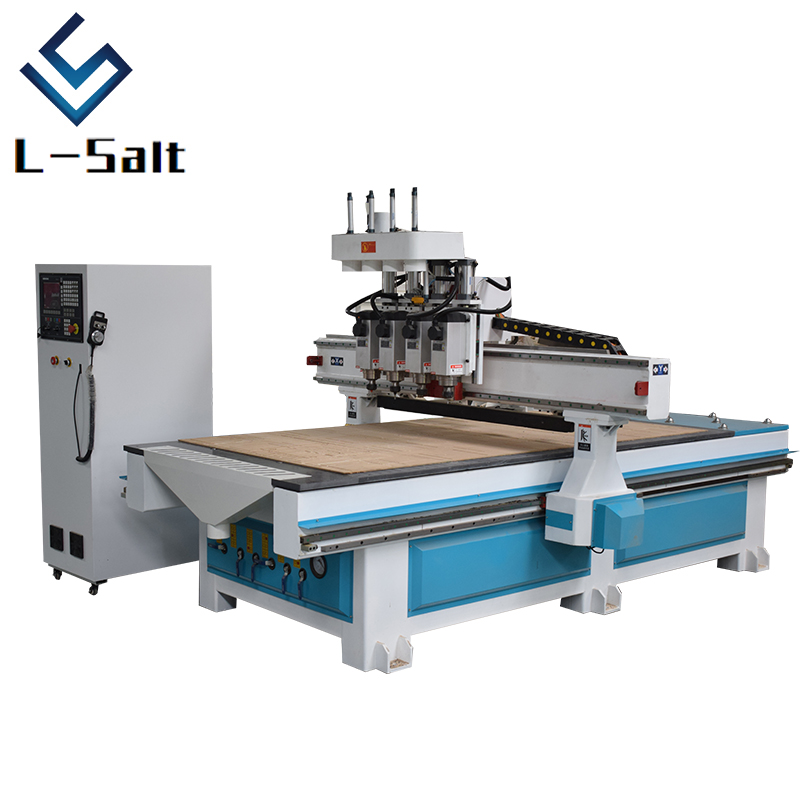 Cnc Machine Price 4*8ft Four Head Cnc Carving Machine