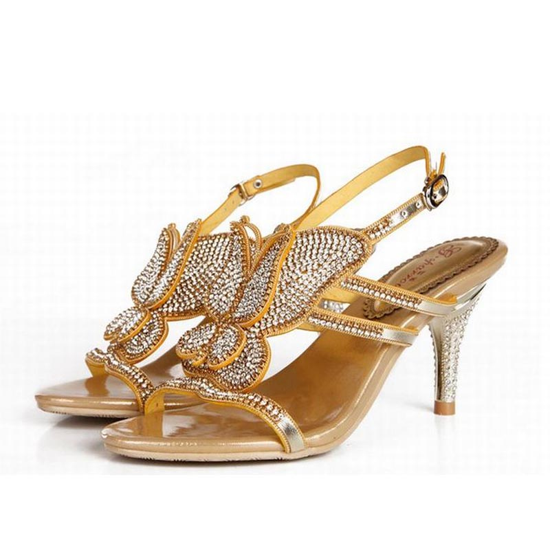 Plus Size 44 Summer Women Sandals Rhinestone High Heels Woman Party Ladies Valentine Wedding Shoes Zapatos Mujer Tenis Feminino shoes woman sandals high heels women zapatos mujer sapato feminino sandalias femme ladies summer buckle women s valentine shoes