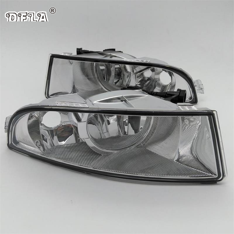 Car Light For Skoda Octavia A6 MK2 FL 2009 2010 2011 2012 2013 Car-styling Front Halogen Fog Light Fog Lamp With 2 Holes car modification lamp fog lamps safety light h11 12v 55w suitable for mitsubishi triton l200 2009 2010 2011 2012 on