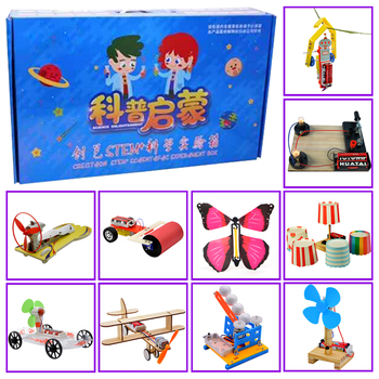 Promotion pack 5# DIY Toys ten kinds of different  electronics education self assembly kit for:science DIY kits Child