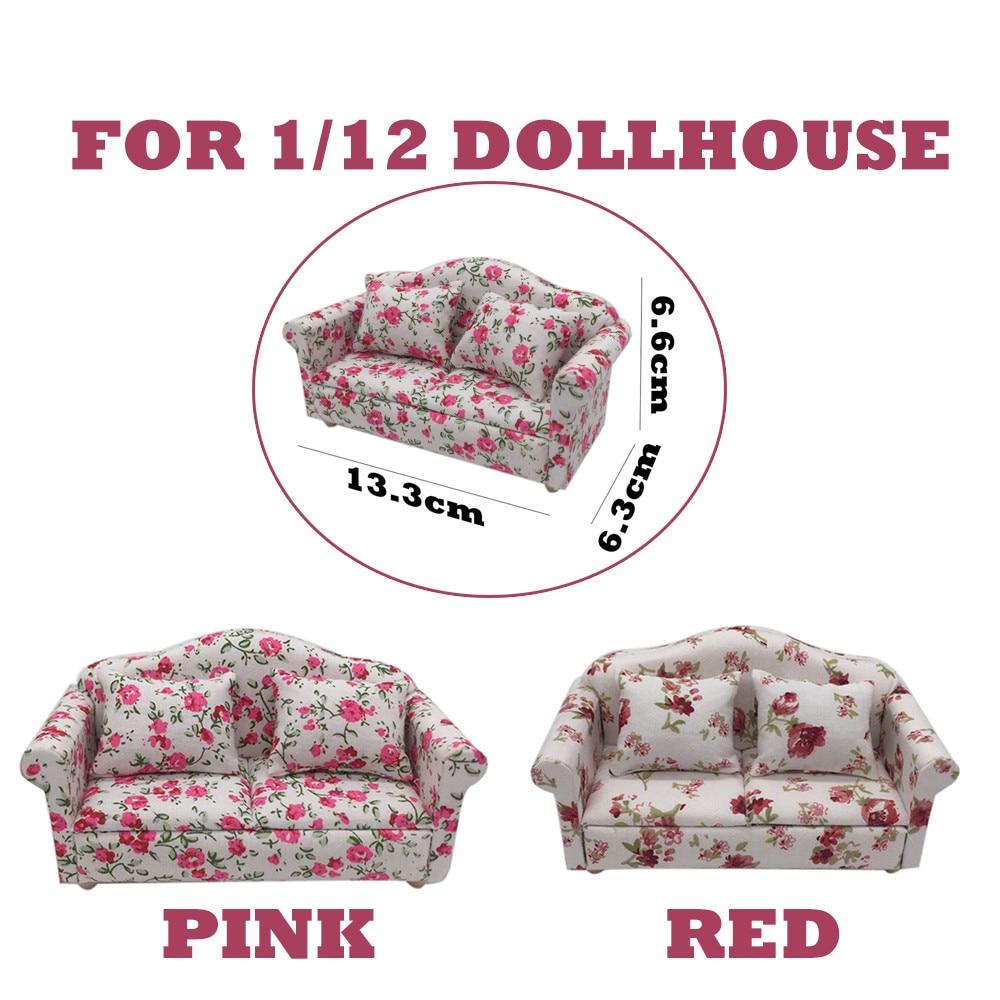 MUQGEW Furniture-Sofa-Set Miniature Dollhouse Kids for Your Good-Accessory Pretend-Play-Toy