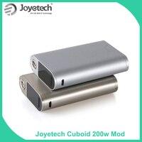 Clearance Original Joyetech Cuboid 200 Box Mod Powerd By 18650 Battery Mod Electronic Cigarette Vape Mod