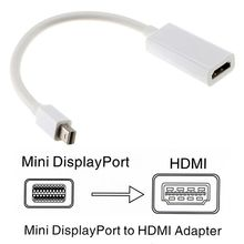 Mini DP to HDMI Cable Converter Adapter Mini DisplayPort Display Port DP to HDMI Adapter For Apple Mac Macbook Pro Air Notebook
